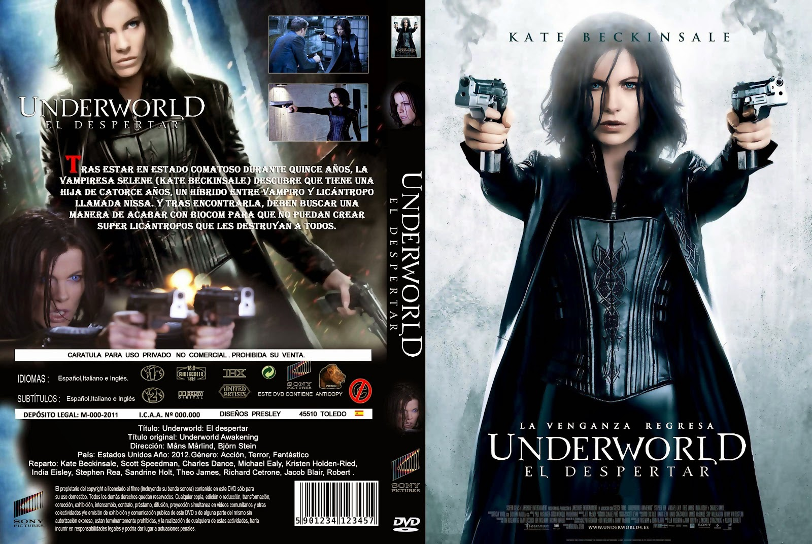 Underworld El Despertar DVD