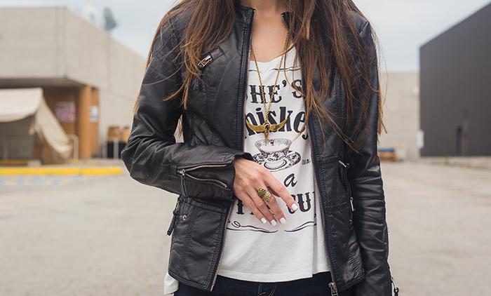 Whiskey-tee-skinny-jeans-leather-jacket-rocker
