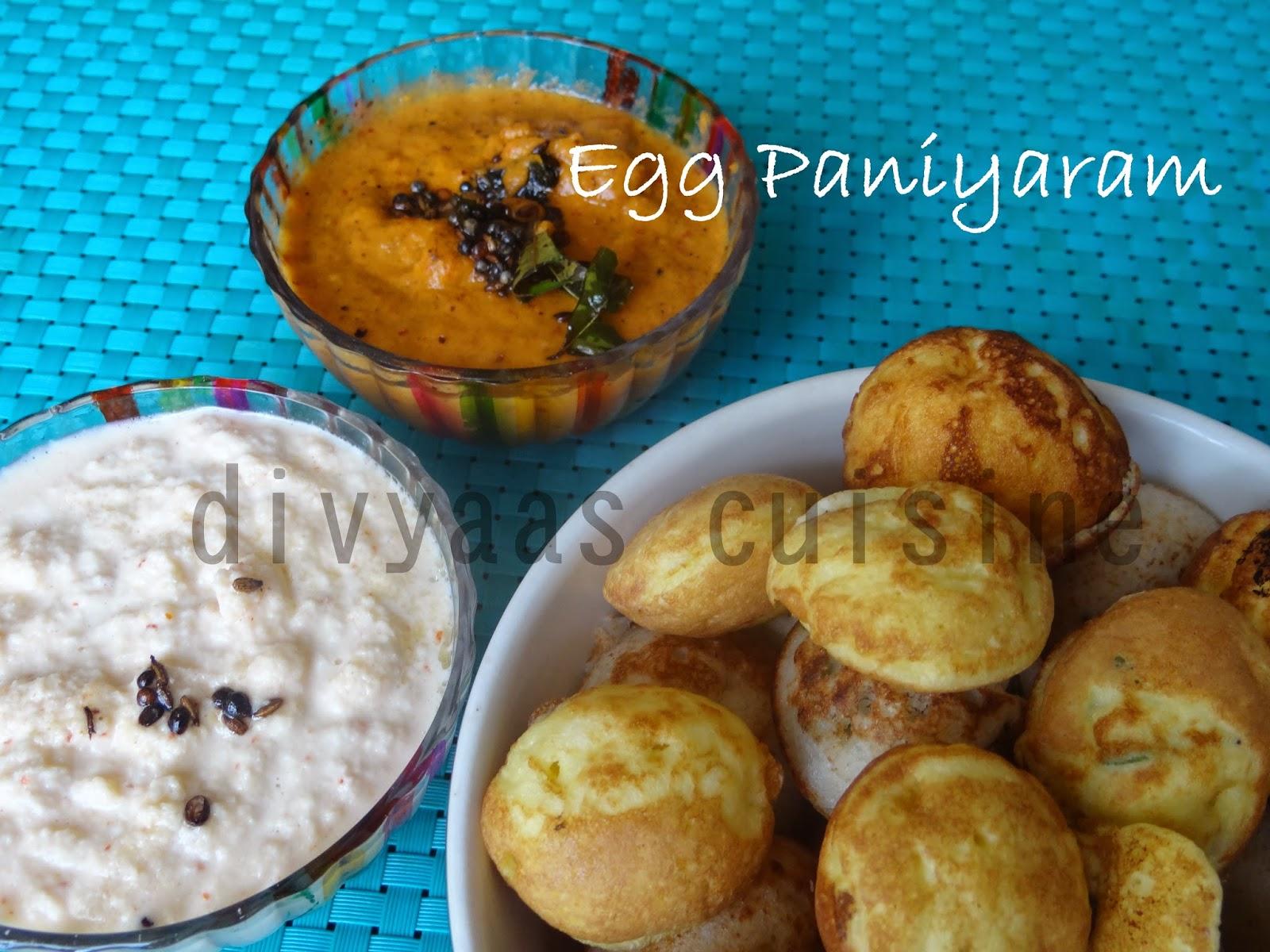 Egg Paniyaram