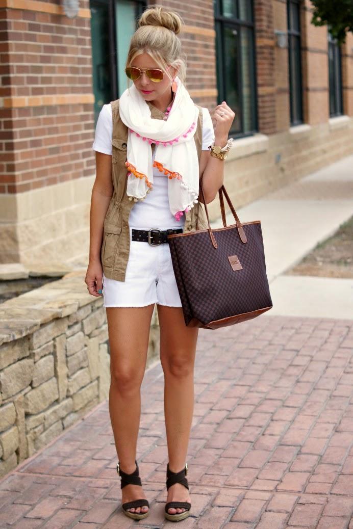 White on White Summer Outfits Ideas