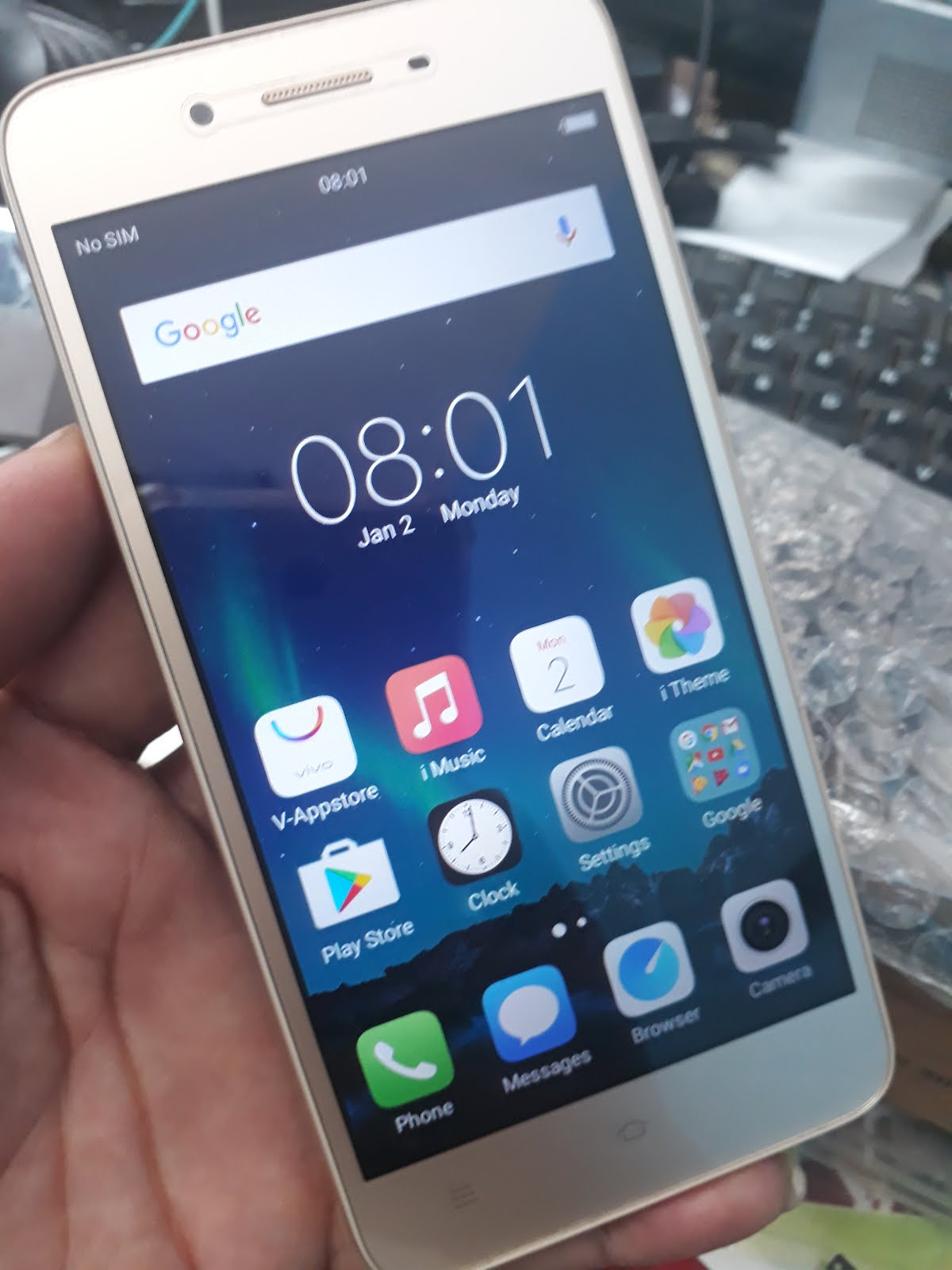 Vivo 1606 Password With Google Reset Solved
