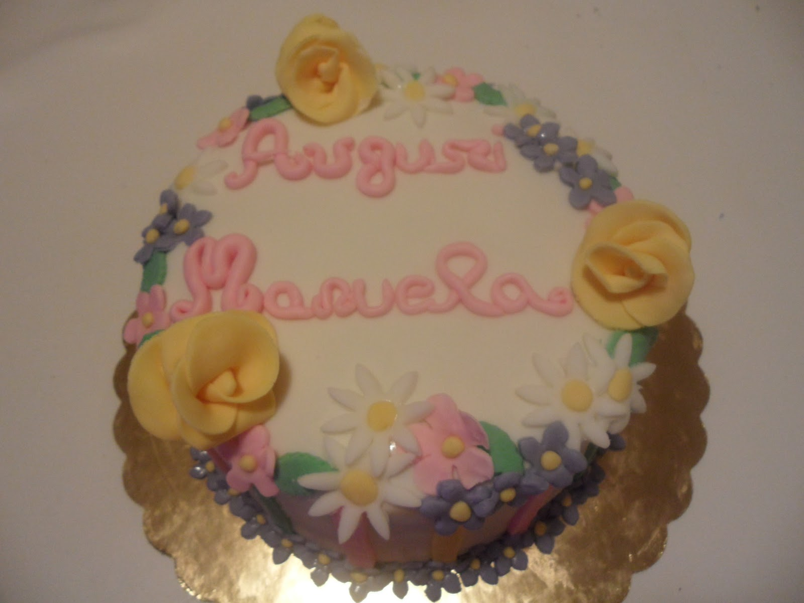Birthday Cake Images With Name Manu : le dolcezze di Valentina: Torta Auguri