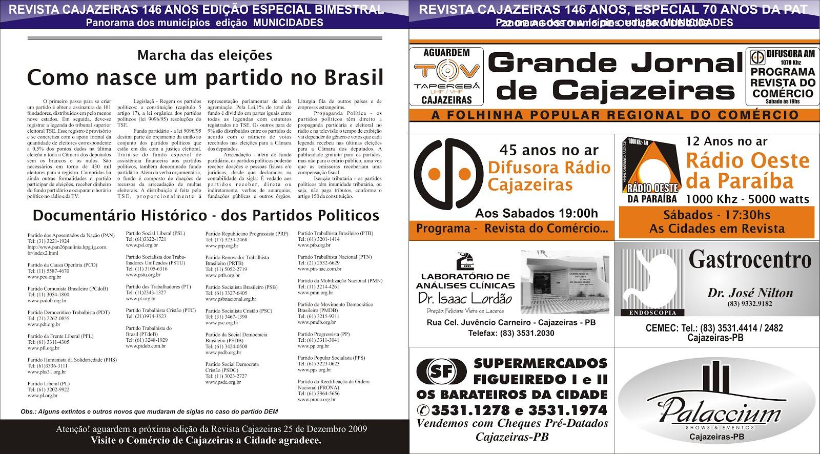 GRANDE JORNAL DO ESTADO  NA COBERTURA DAS ELEIÇÕES