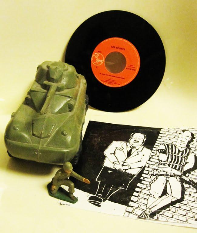 Les Spurts - Je  suis fier de mon grand père - 1982 Le kiosque d' Orphée punk France