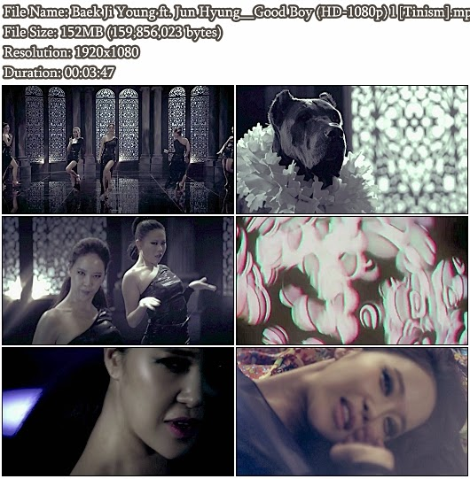 Download MV Baek Ji Young (백지영) ft. Jun Hyung (용재순) (BEAST/B2ST/비스트) - Good Boy (Full HD 1080p)