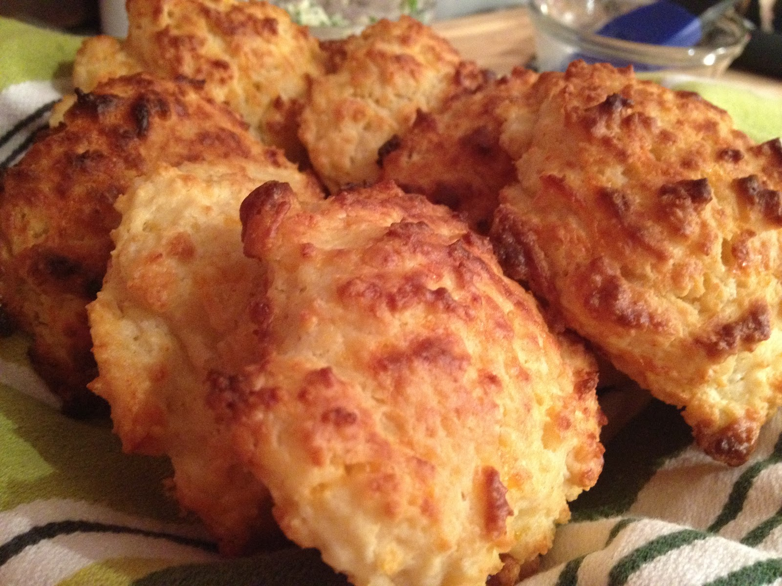 Douglas Kitchen Odyssey: Cheddar Garlic Biscuits with Chive Butter