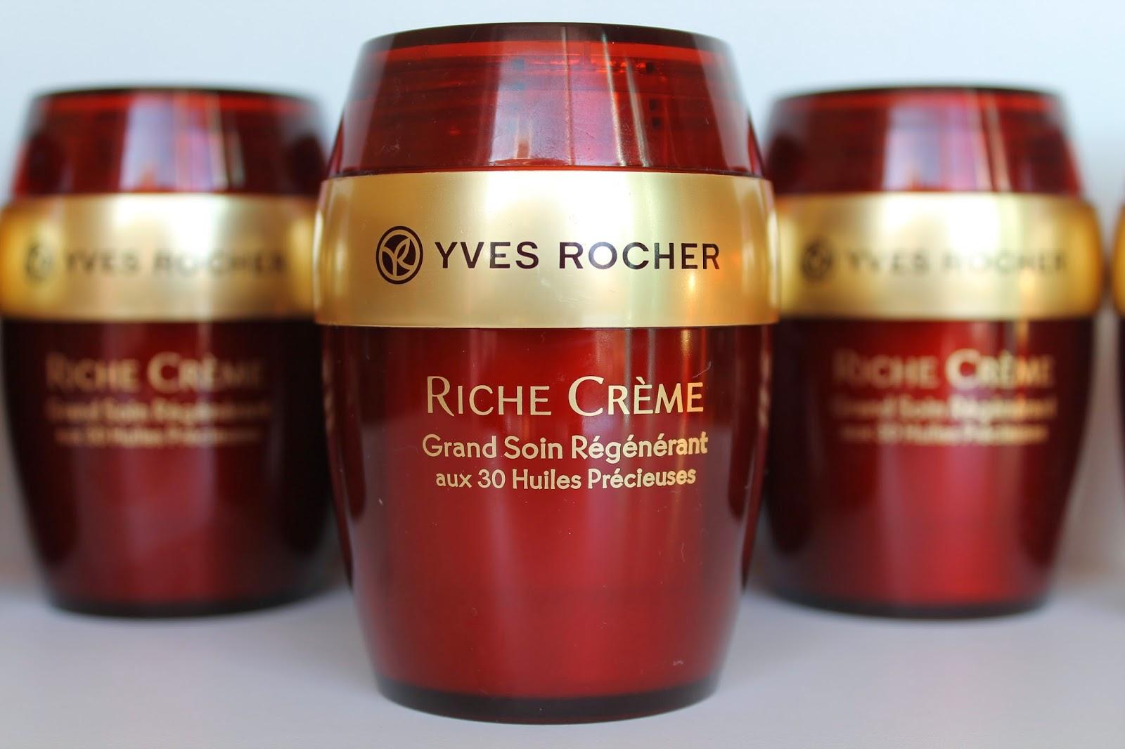 Grand Soin Régénérant aux 30 huiles Riche Crème Yves Rocher