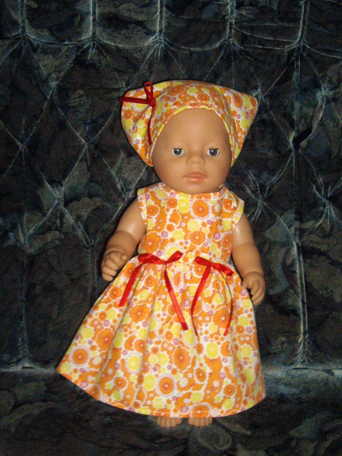 Платья для беби борн своими руками