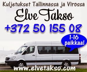 Luotettavaa taksikyytiä Tallinnassa ja Virossa