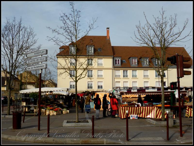 Porchefontaine market marché Versailles