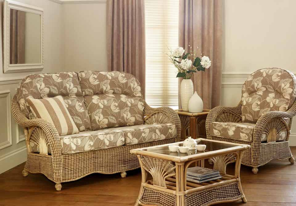 living room simple design original rattan furniture for living room
