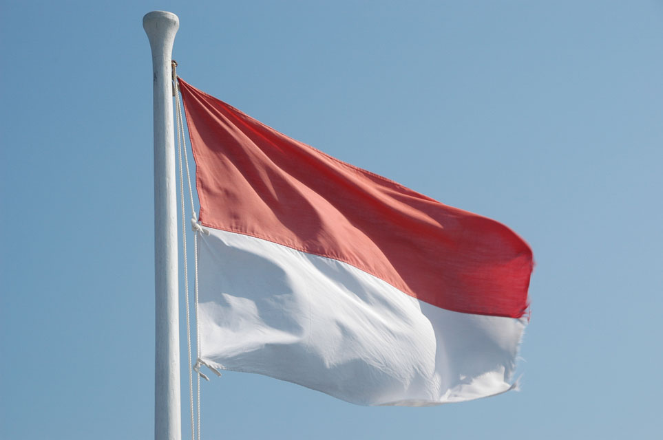 indonesian flag. TAGS : Indonesian Flag