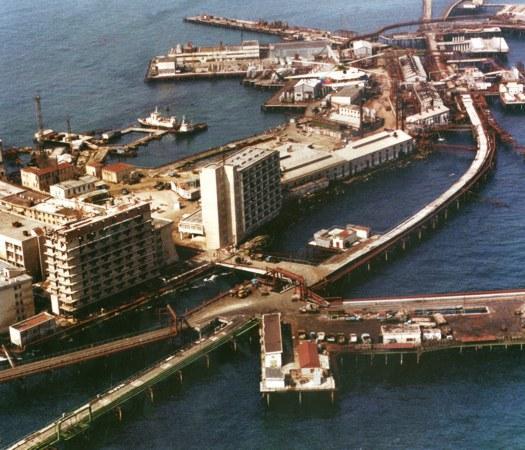 gambar, menarik, cantik, oil stone, apakah, info tentang, bandar di tengah laut, panjang