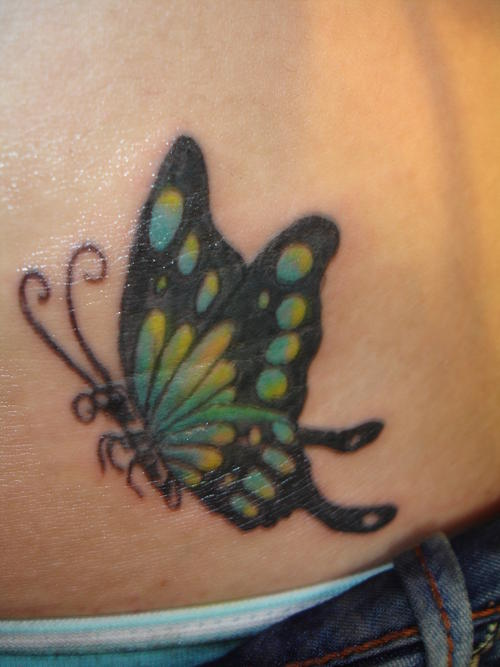 Cute Hip Tattoo Design Photo Gallery - Cute Hip Tattoo Ideas