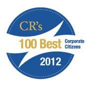 classement 2012 des 100 entreprises les plus citoyennes 100 Best Corporate Citizens magazine Corporate Responsibility