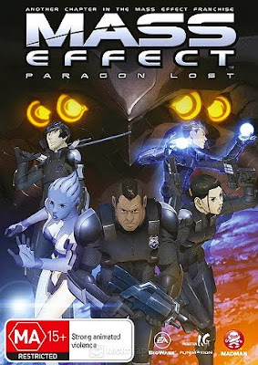 Filme Poster Mass Effect: Paragon Lost DVDRip XviD & RMVB Legendado
