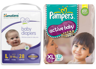 PAytm : Buy Pamper Baby Diaper & Get Flat 40% Cashback, starting at Rs.49 buytoearn
