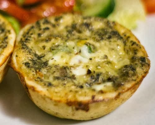 Quiche in Cups