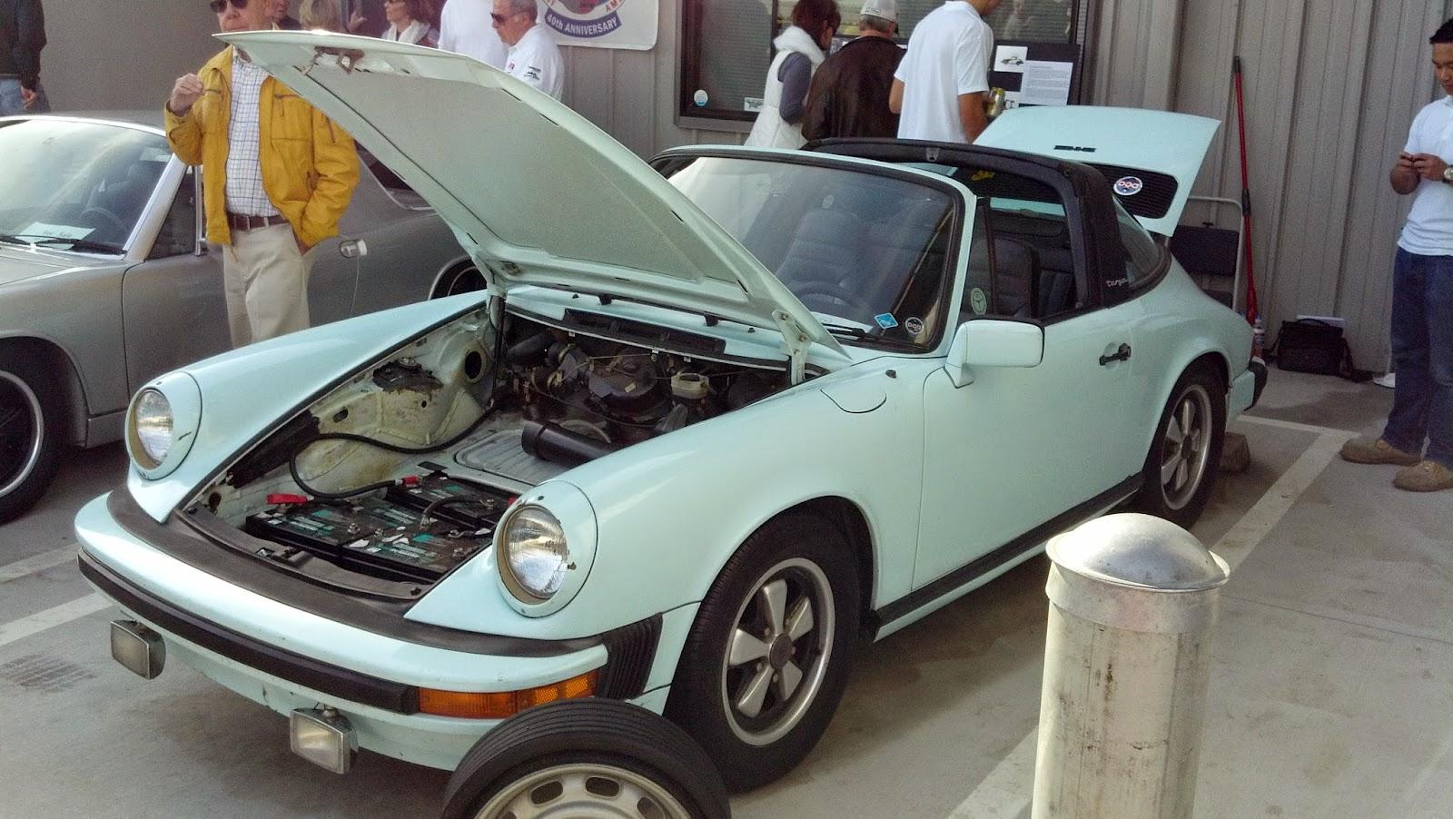 89 Electric Car Conversion Porsche 1969 76 Porsche 914