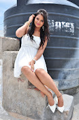 Ashwini latest sizzling photos in white-thumbnail-14