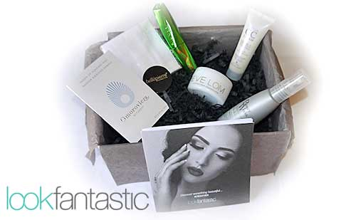 Beauty Box Lookfantastic Agosto 2015