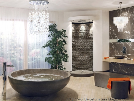 Creative modern bathroom design