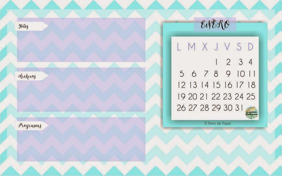 calendario de Enero tres