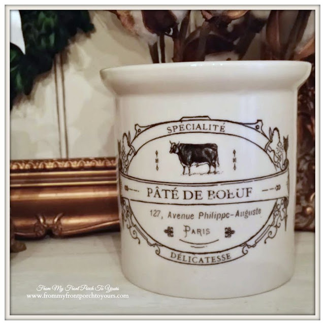 Creative Co-Op-Cow Crock-Farmhouse Decor- From My Front Porch To Yours