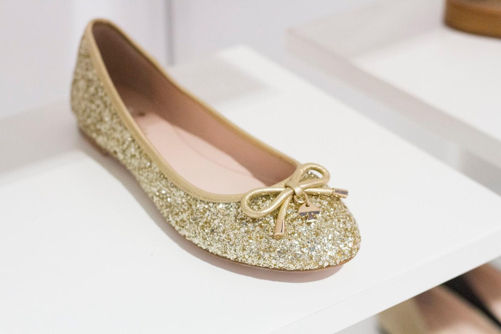 kate spade new york fall 2015 shoe collection fn platform glitter ballet flats