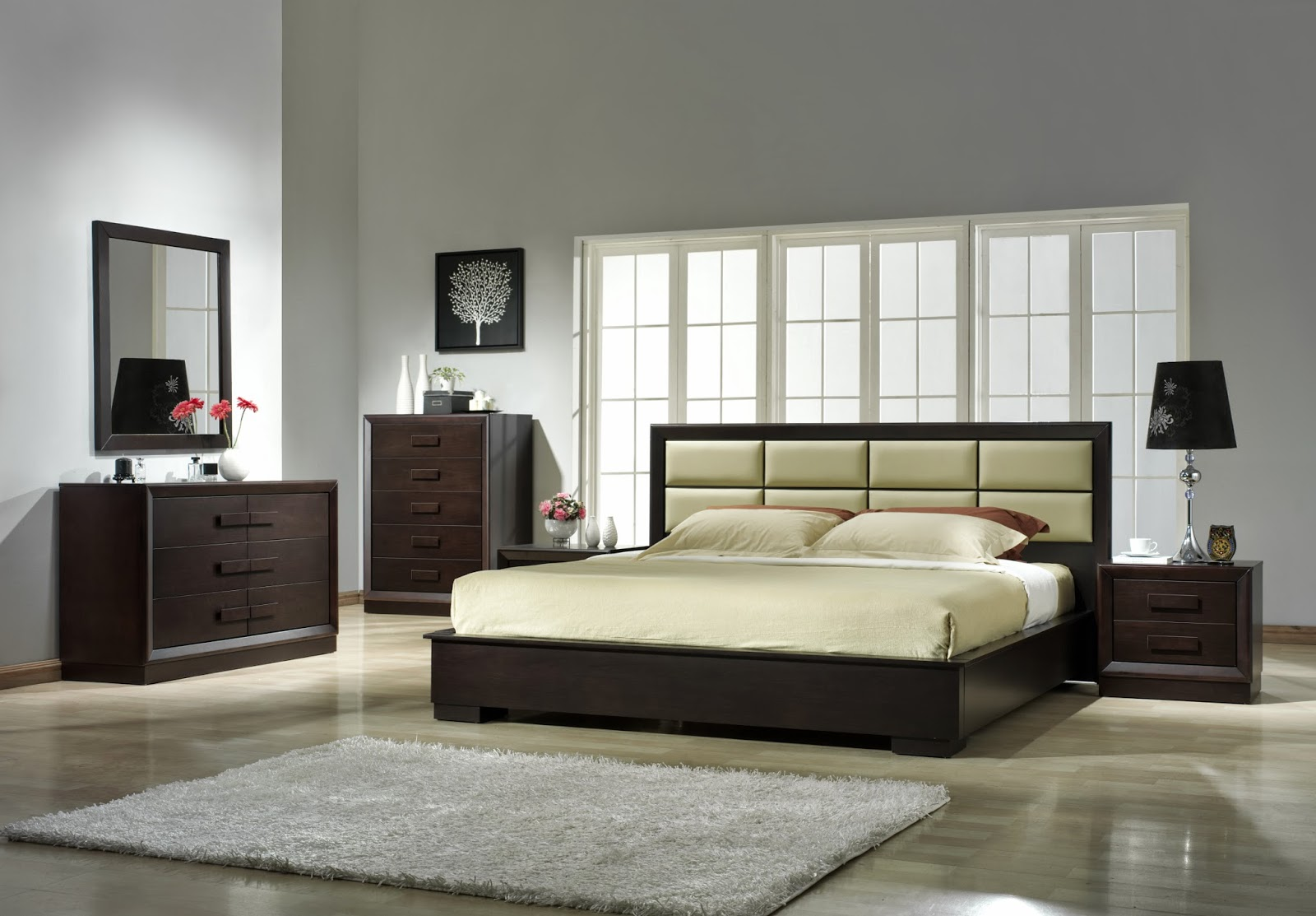 Cheapest bedroom furniture popular interior house ideas for Affordable modern bedroom sets