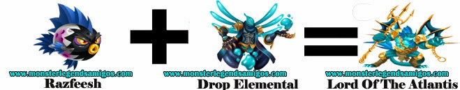 como obtener el monster lord of the atlantis en monster legends formula 1