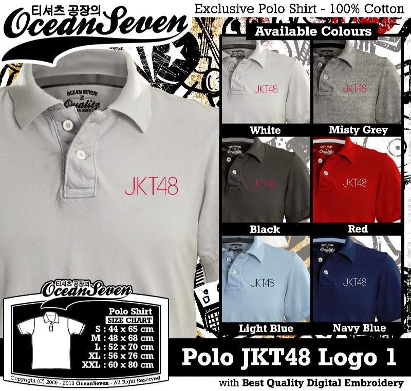 Kaos Polo JKT48 Logo 1