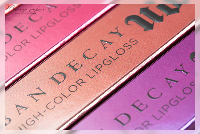 Urban Decay Summer Launches 2015 Revolution High-Color Lipgloss