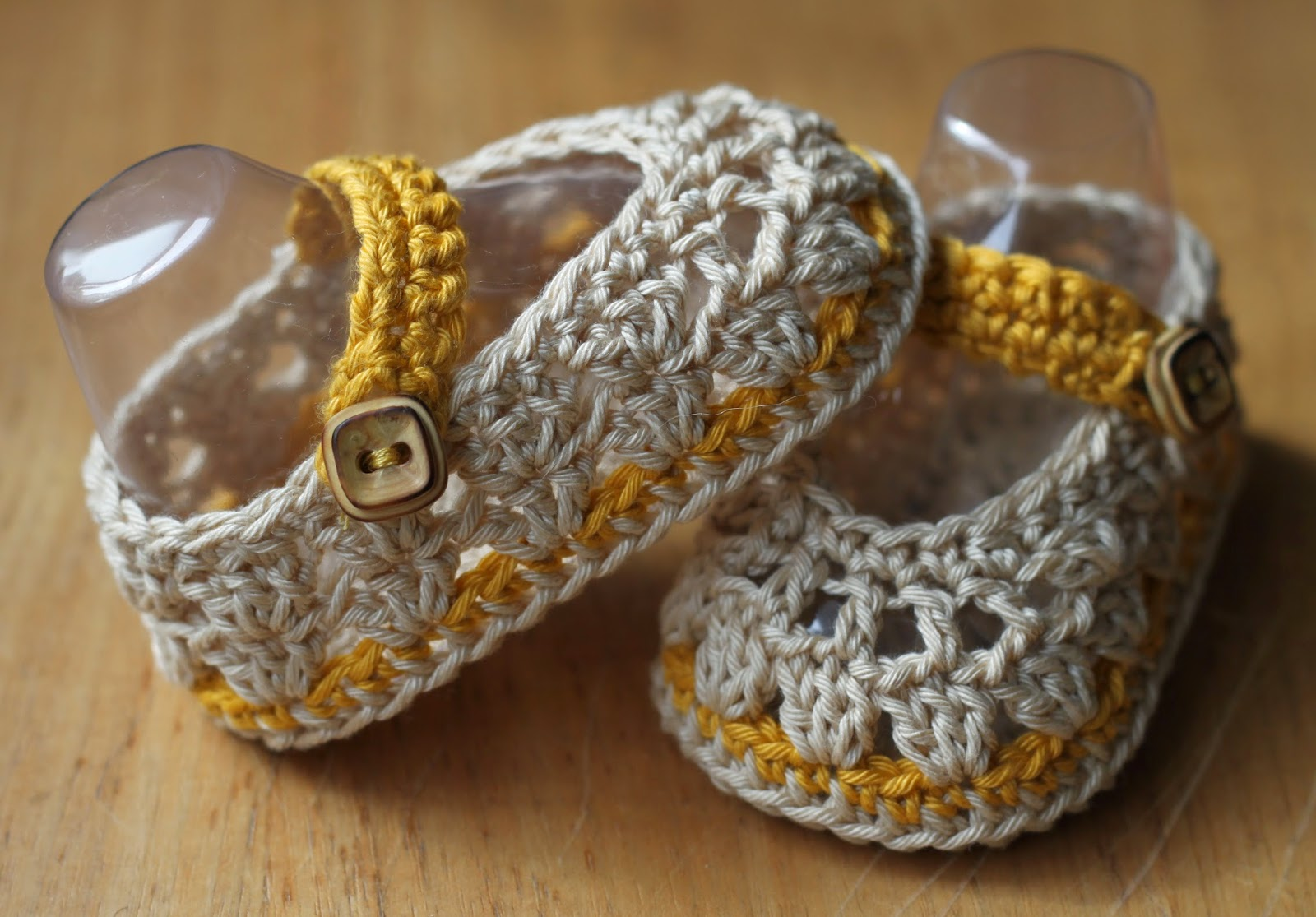 Crochet Brio Spring Newborn Crochet Baby Ballerina