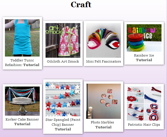 How to Create a Gallery of Images on your Blog by Tricia @ SweeterThanSweets