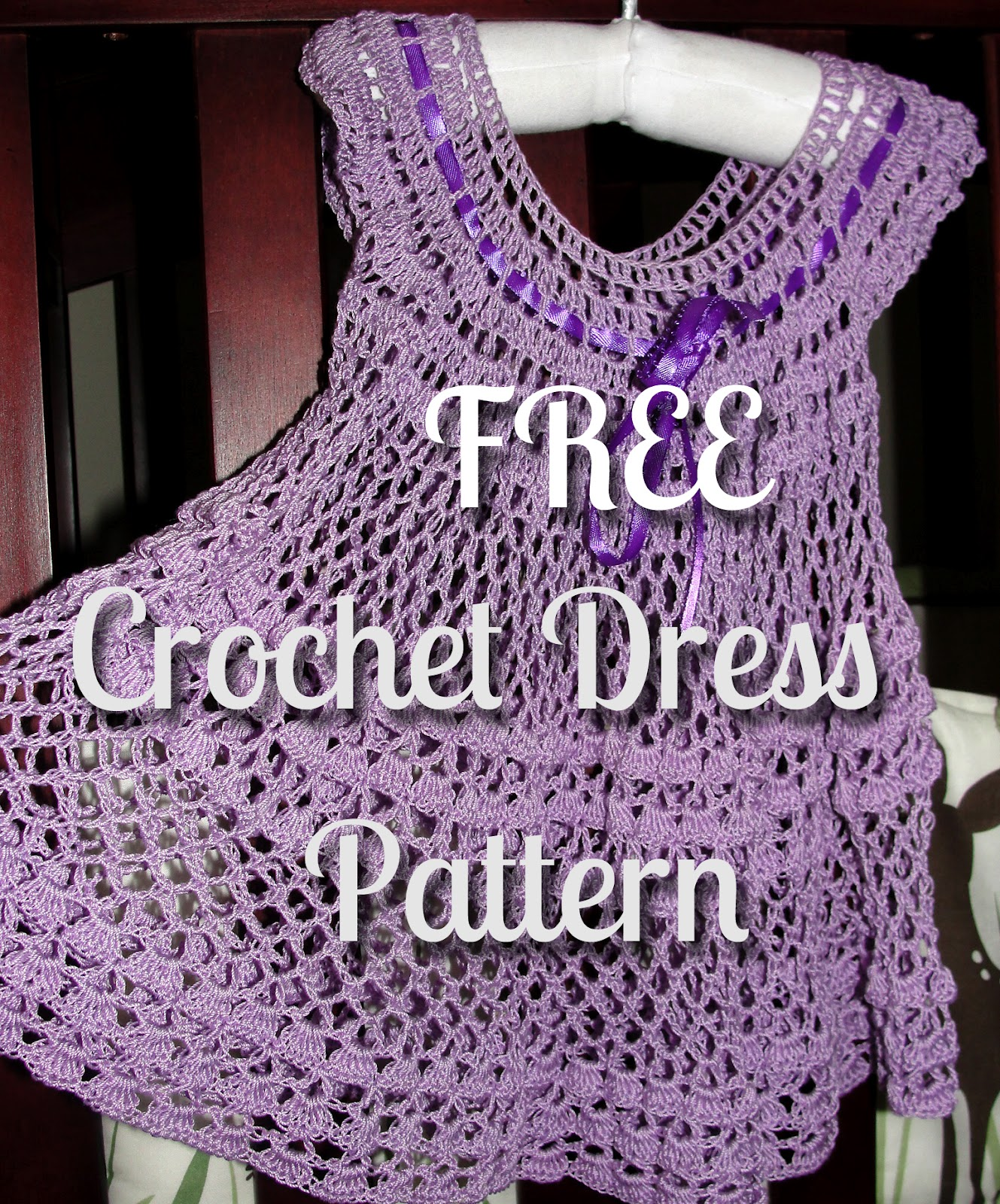 Free Patterns For Baby Dresses In Crochet : In Karapoozville: Crochet summer baby dress