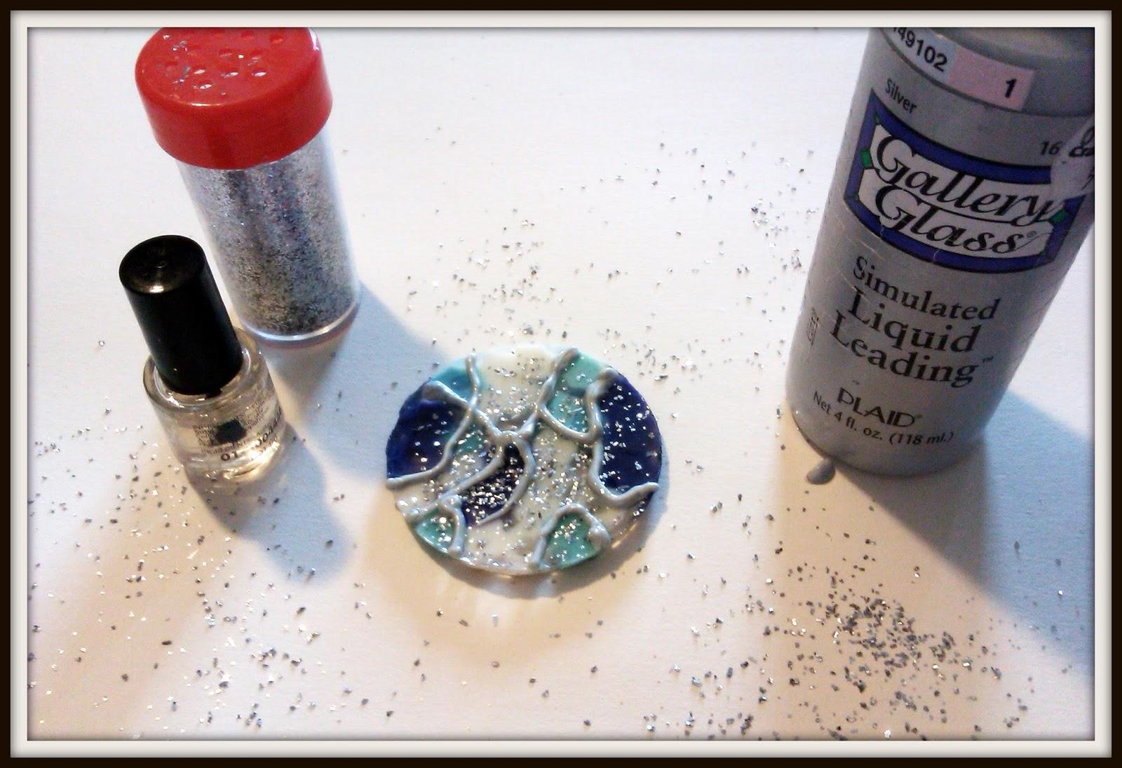 Double treble craft adventures 40 nail polish crafts for for Nail polish crafts