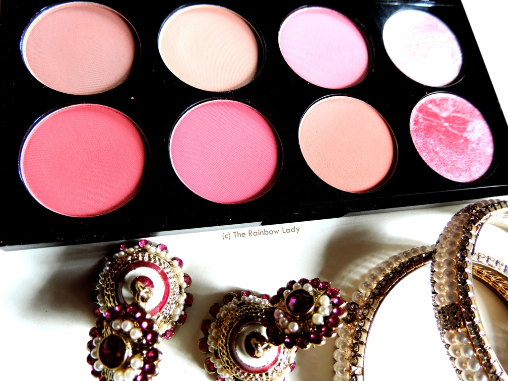 Makeup Revolution Ultra Professional Blush Palette In Sugar And Make Up Spice