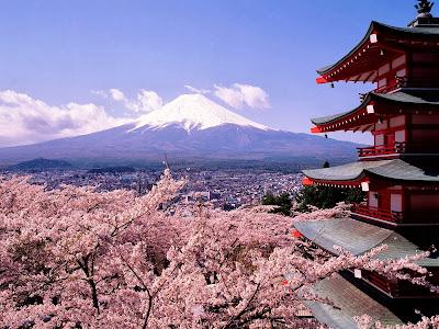 Pemandangan Cantik Negara Jepang