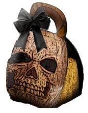 Halloween: Skull Free Printable Box.