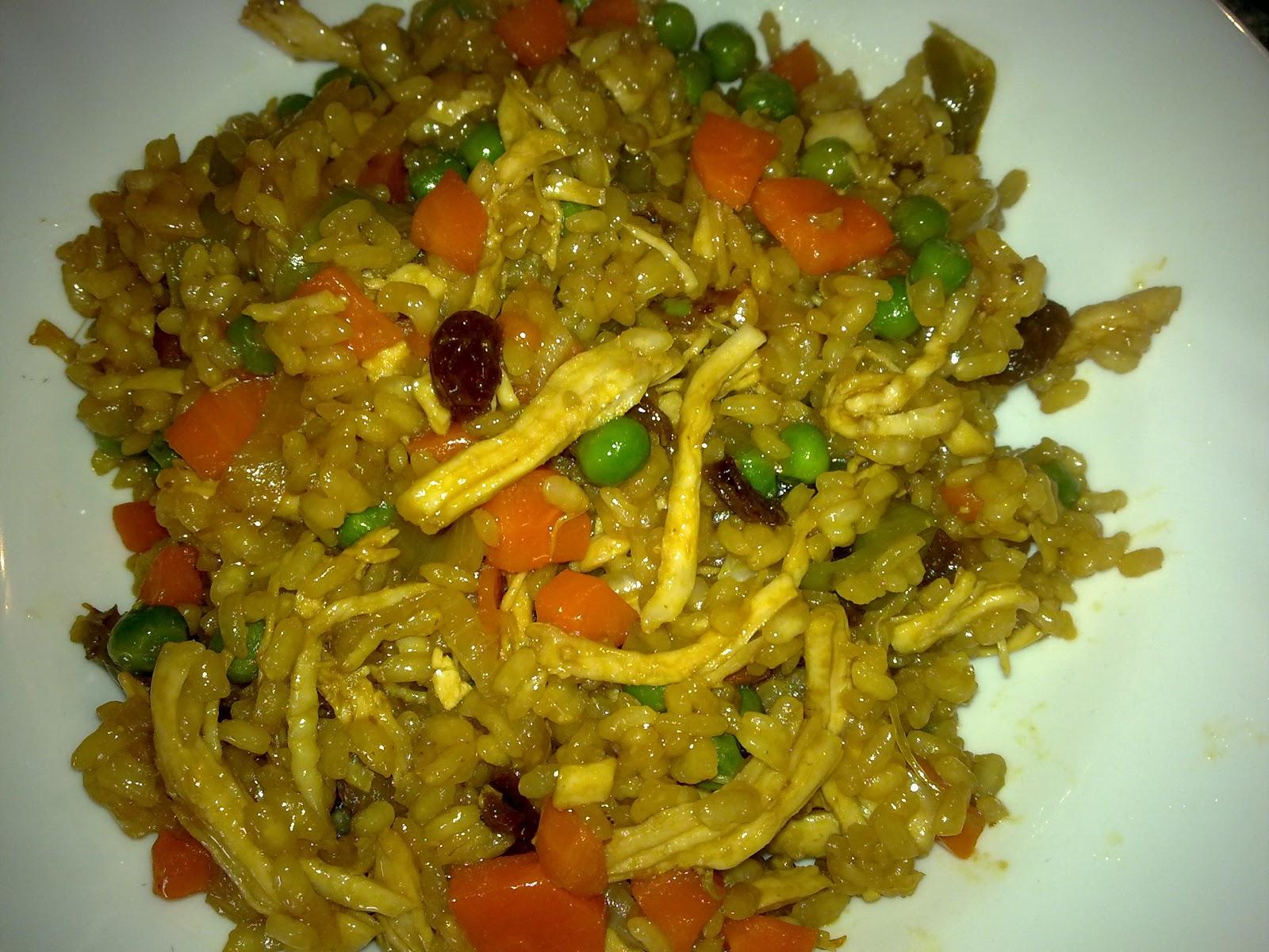 arroz con pollo ecuatoriano receta