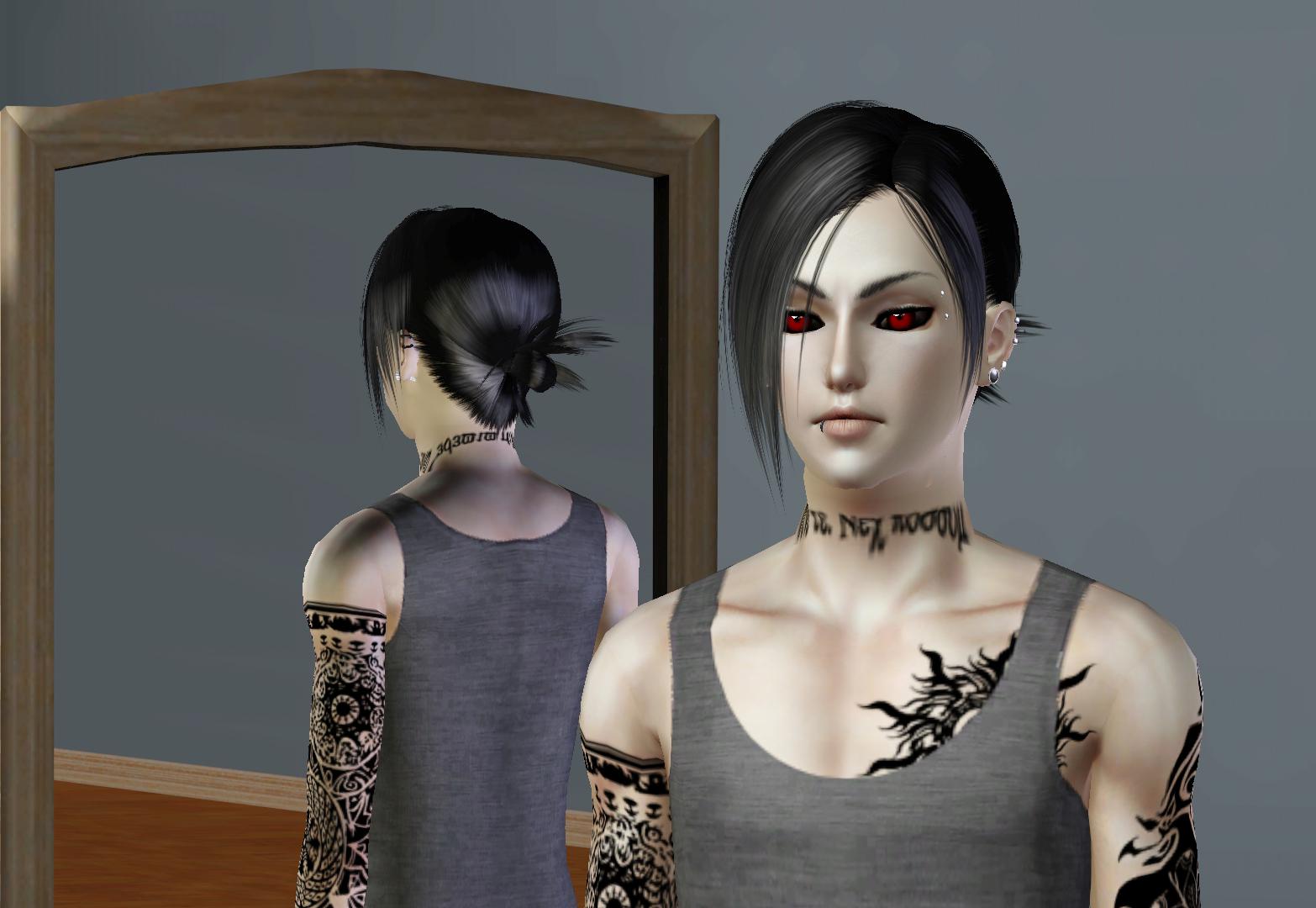 Sims 3 Anime Characters : Ng sims uta ken kaneki tokyo ghoul anime