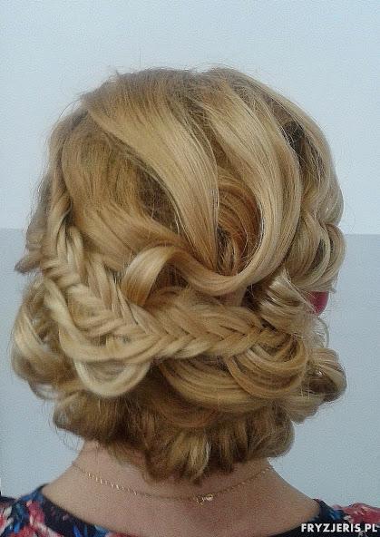 fryzura ślubna 36