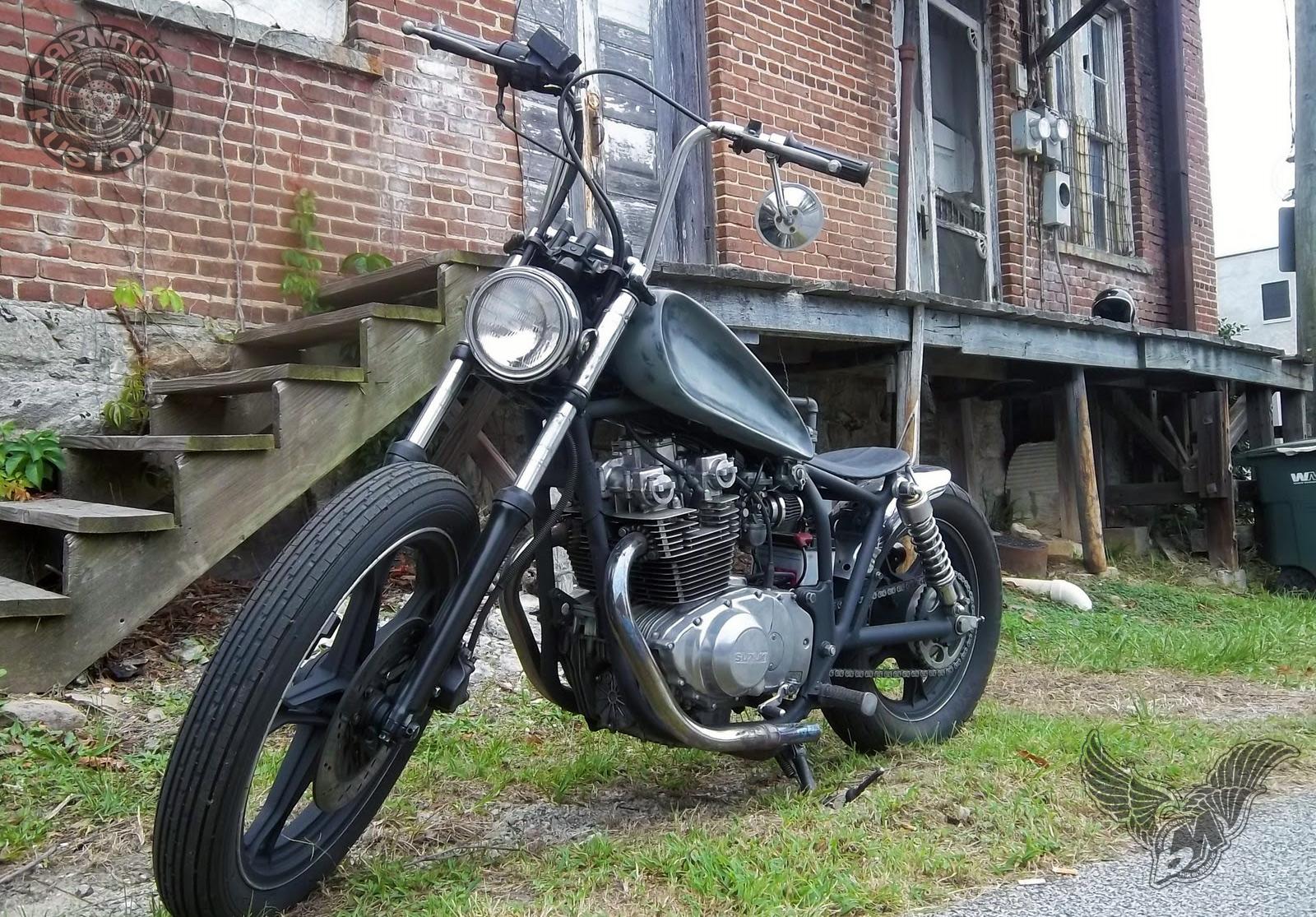 suzuki gs450 brat bobber for sale bikermetric rh bikermetric com Bobber Wiring Kit Simple Chopper Wiring Diagram