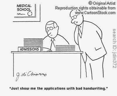 Doctor's reading speech Funny Humor Cartoons