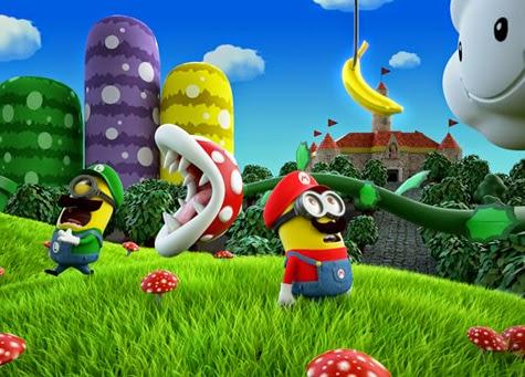 Minion Mario e Minion Luigi