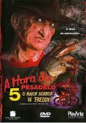 A Hora do Pesadelo 5: O Maior Horror de Freddy – Dublado (1989)