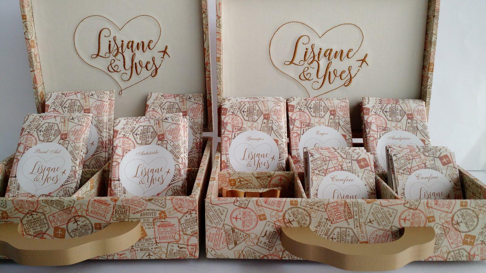 Kit Banheiro Casamento Floral : Arte caixas ateli? kit banheiro casamento lisi e yves