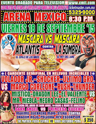 CMLL 82. Aniversario (18/09/2015)
