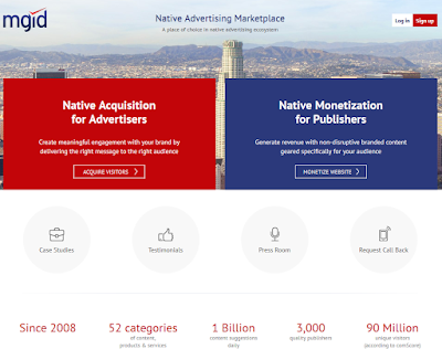 Daftar MGID : CPC, CPM dan Content Marketing Platform